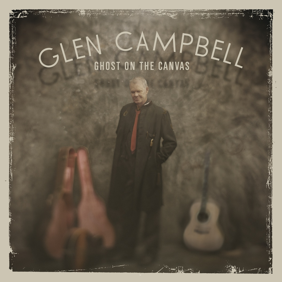 Ghost On the Canvas Glen Campbell CD cover