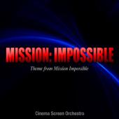 映画『ミッション:インポッシブル』のテーマ/Cinema Screen Orchestraジャケット画像