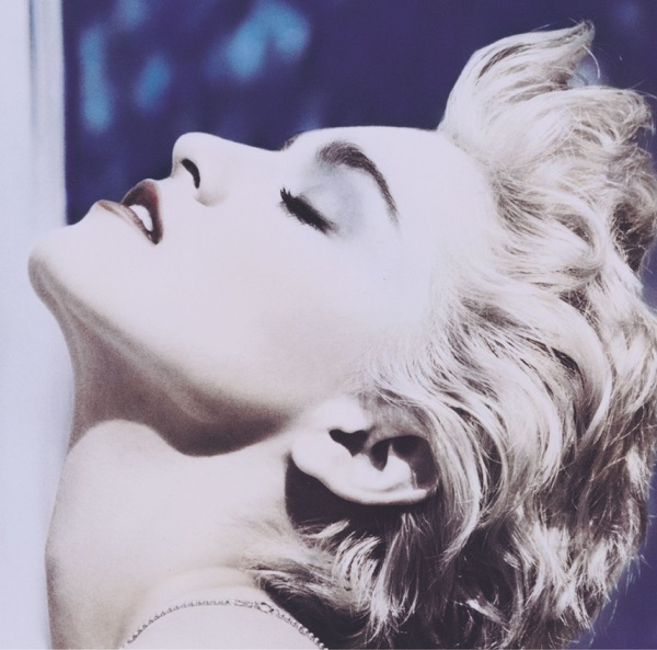 Madonna mit True Blue