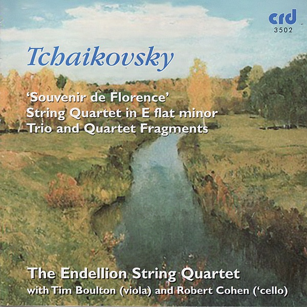 Tchaikovsky: Souvenir de Florence & String Quartet in E Flat Minor