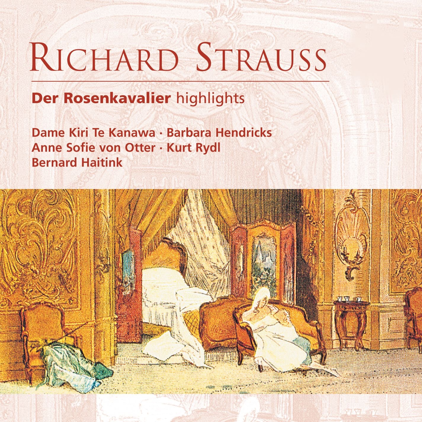Der Rosenkavalier (highlights), Act III: Ach, lass' Sie schon einmal das fade Wort! (Baron Ochs, Octavian)...