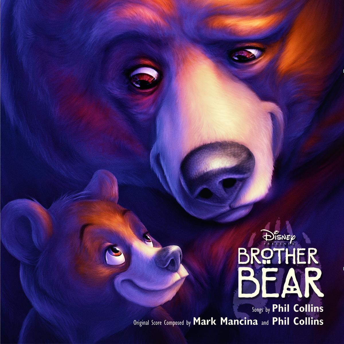 Brother Bear Soundtrack from the Motion Picture Phil Collins CD cover