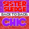 Back To Back: Sister Sledge & Chic ジャケット写真