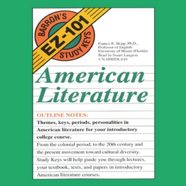 Barron's EZ-101 Study Keys: English Literature (Unabridged) - Benjamin W. Griffith, Ph.D. mp3 listen download