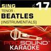 Sing Tenor Beatles Vol 17 Karaoke Performance Tracks