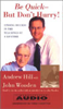 Andrew Hill & John Wooden - Be Quick - But Don't Hurry! (Abridged Nonfiction) artwork