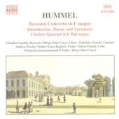Quartet In E Flat Major For Clarinet, Violin, Viola And Cello: Allegro Moderato artwork
