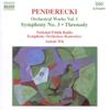 Krzysztof Penderecki - Penderecki: Orchestral Works Vol. 1  artwork