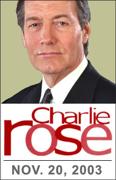 Download Charlie Rose: Noam Chomsky, November 20, 2003 Audio Book