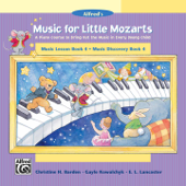 Music for Little Mozarts: Music Lesson & Music Discovery, Book 4