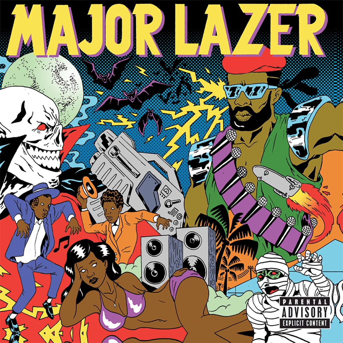 Guns Dont Kill PeopleLazers Do Bonus Track Version Major Lazer CD cover