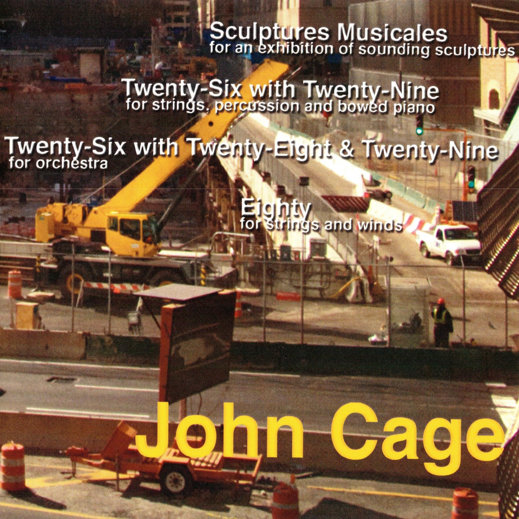 John Cage: Sculptures Musicales, Fifty-Five, Eighty-Three, Eighty - EP