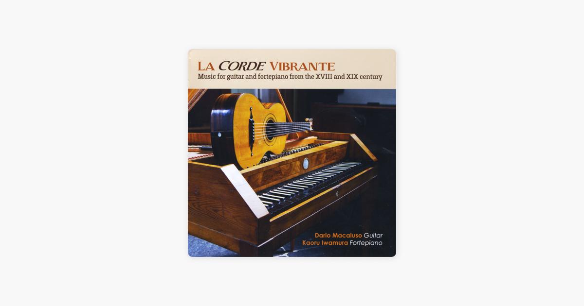 La Corde Vibrante by Dario Macaluso & Kaoru Iwamura