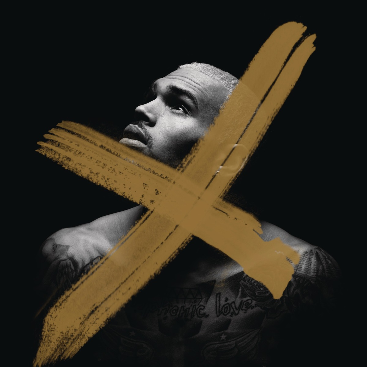 X Deluxe Version Chris Brown CD cover