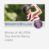 Ron Barr - Lady Golf Legends: Nancy Lopez  artwork