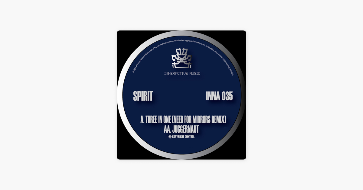 Three In One Need For Mirrors Remix Juggernaut Single By
