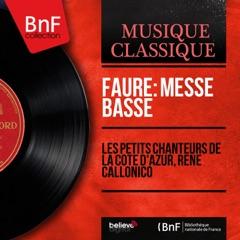 Fauré: Messe basse (Mono Version) - EP