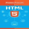 Preston Prescott - HTML 5: Discover How to Create HTML 5 Web Pages with Ease (Unabridged)  artwork