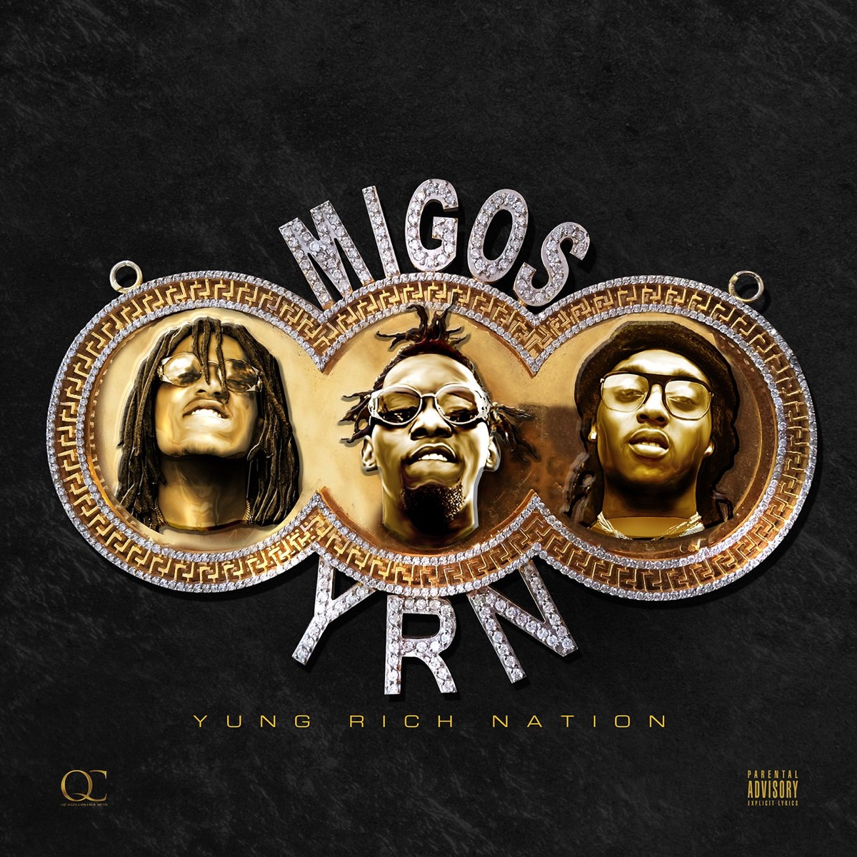 Yung Rich Nation Migos CD cover