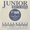 Junior Boys Own presents: Baby Wants to Ride - EP ジャケット写真