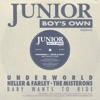 Junior Boys Own presents: Baby Wants to Ride - EP ジャケット写真