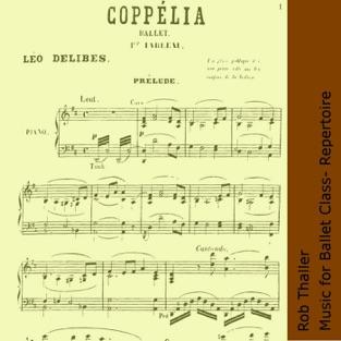 Music for Ballet Class – Repertoire – Rob Thaller