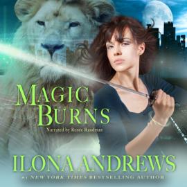 Magic Burns: Kate Daniels, Book 2 (Unabridged) audiobook