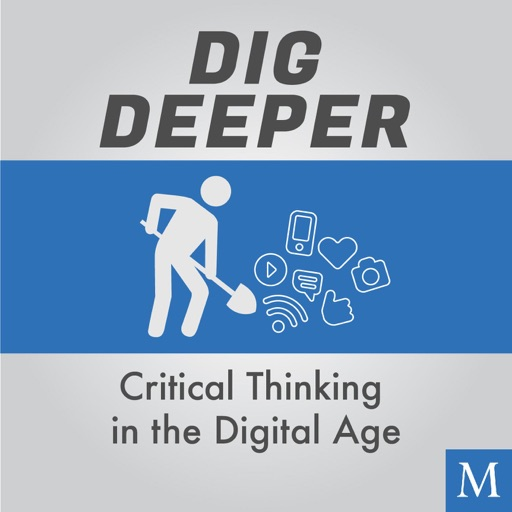 Cover image of Dig Deeper: Critical Thinking in the Digital Age
