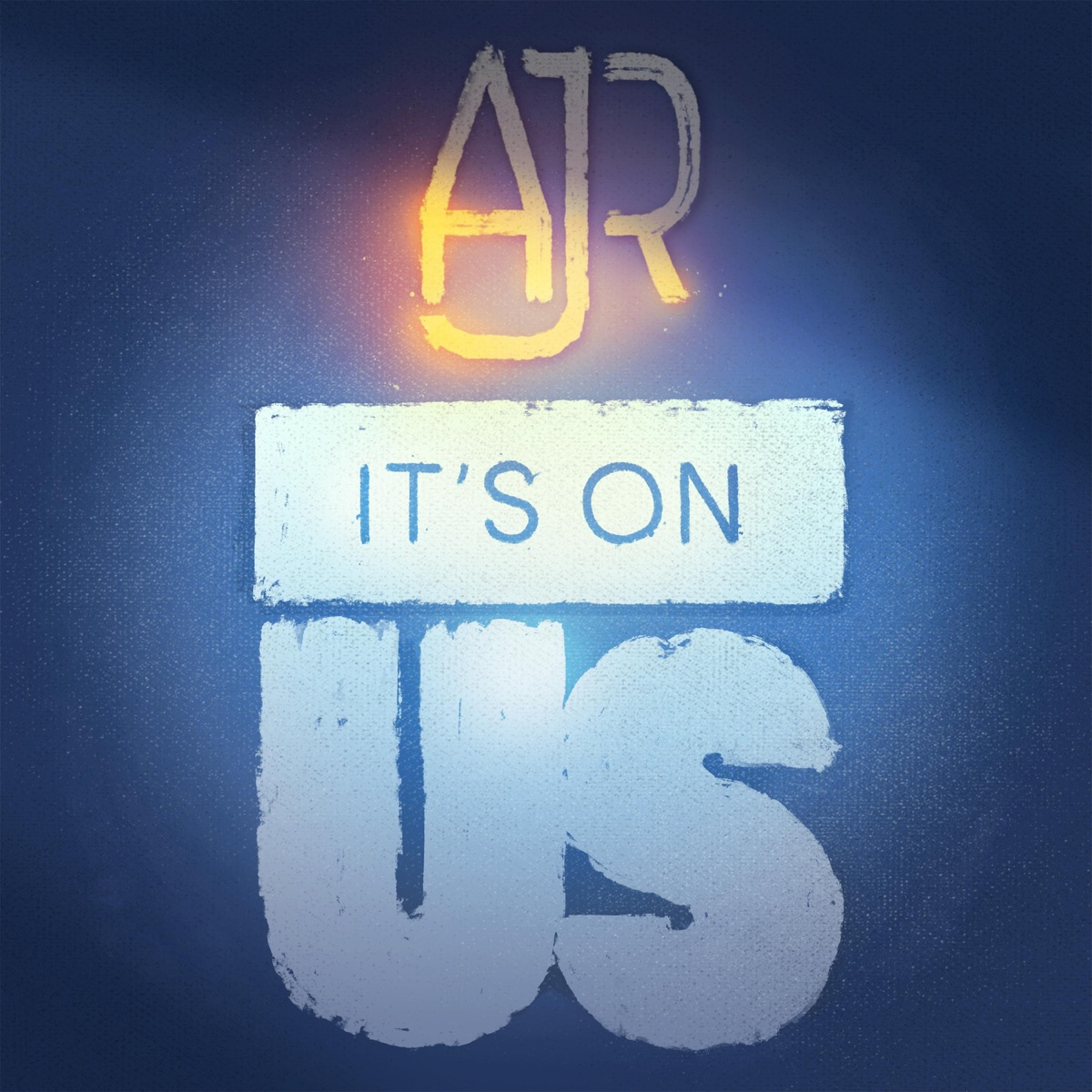 It's On Us Album Cover by AJR