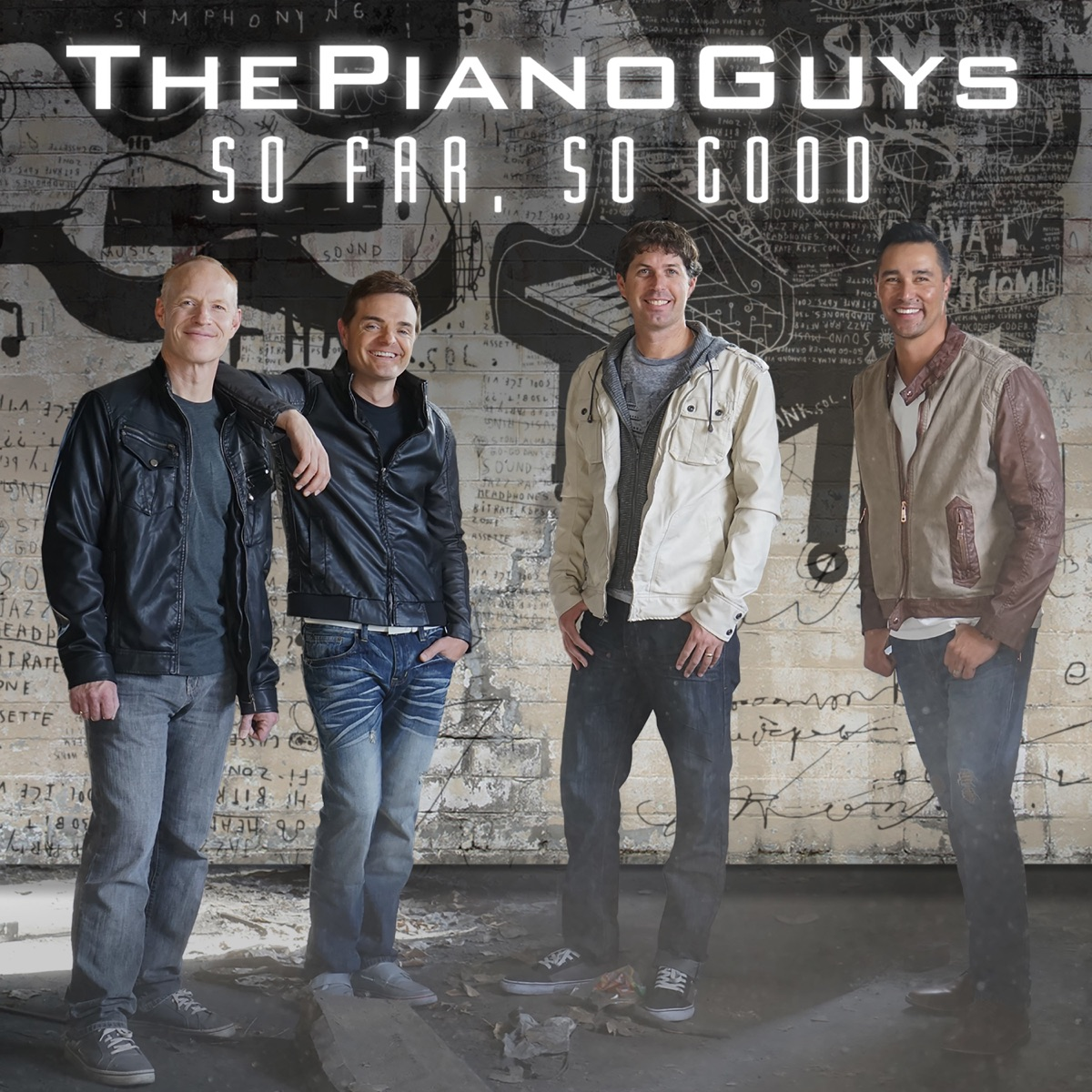 So Far So Good The Piano Guys CD cover
