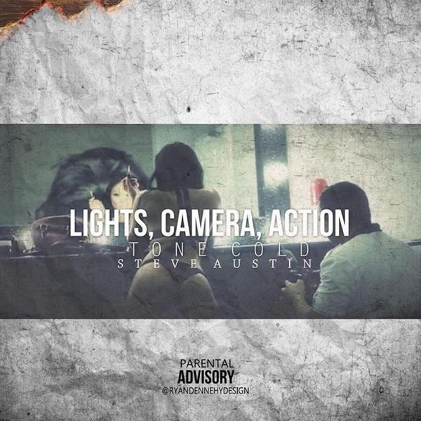 tone cold steve austinの lights camera action single をapple