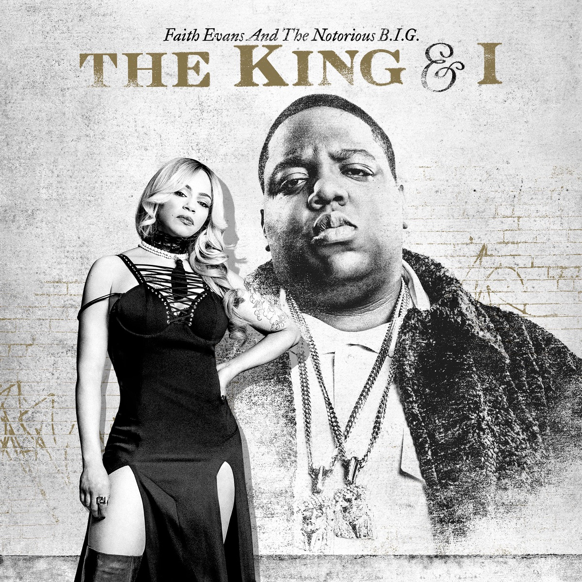The King  I Faith Evans  The Notorious BIG CD cover