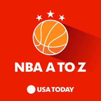 Podcast cover art for NBA A to Z with Sam Amick and Jeff Zillgitt