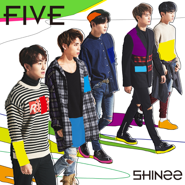 Image result for shinee five album itunes