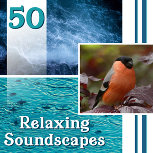 Nature Sounds Paradise - 50 Relaxing Soundscapes: Natural Ambiences for Yoga, Deep Meditation & Healing, Music for Stress Relief
