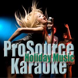 Grown Up Christmas List (Originally Performed By Amy Grant) [Instrumental] - Single ProSource Karaoke Band