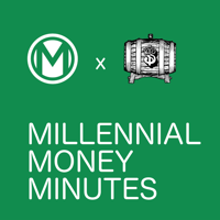 Podcast cover art for Millennial Money Minutes | Personal Finance in 5 Minutes