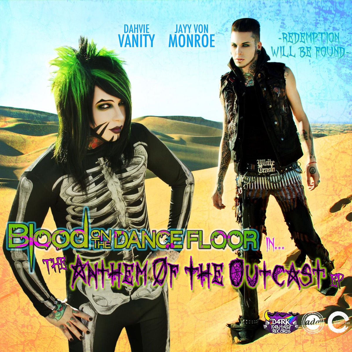 Anthem of the Outcast Blood On the Dance Floor CD cover