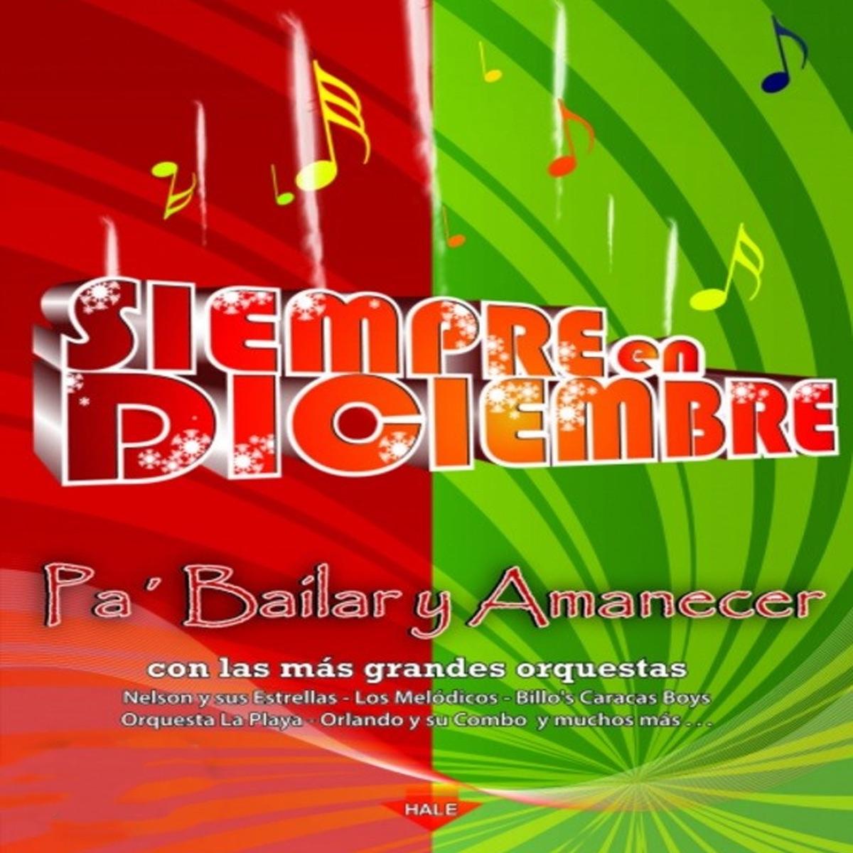 Siempre en Diciembre Various Artists CD cover