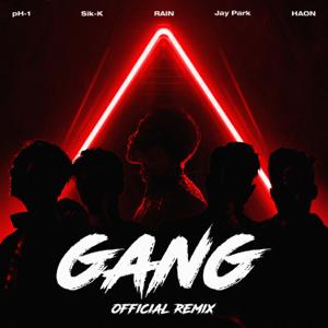 Sik-K, pH-1, Jay Park & HAON - GANG ( Remix)