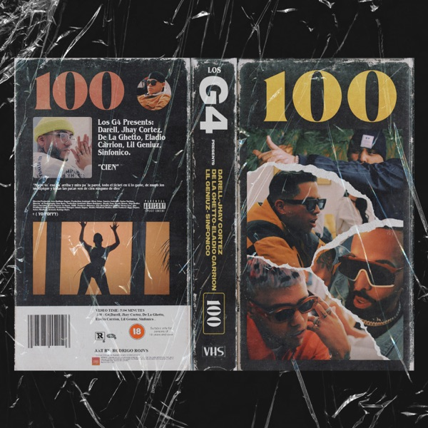 100 (feat. De La Ghetto & Eladio Carrión) - Single