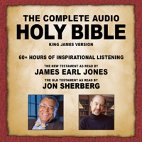 Topics Media Group - The Complete Audio Holy Bible - KJV: The New Testament as Read by James Earl Jones; The Old Testament as Read by Jon Sherberg (Unabridged) artwork