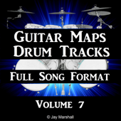 Touch of Funk Drum Beat 95 BPM Chill Drum Track Song Style #344 - Guitar Maps Drum Tracks