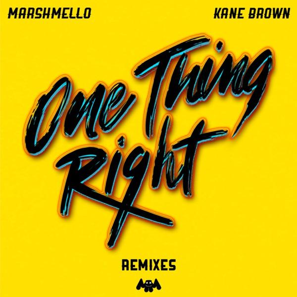 Marshmello & Kane Brown - One Thing Right song lyrics