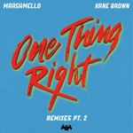 songs like One Thing Right