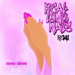 Brooke Simpson - Real Long Nails