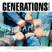 DREAMERS/GENERATIONS from EXILE TRIBEジャケット画像