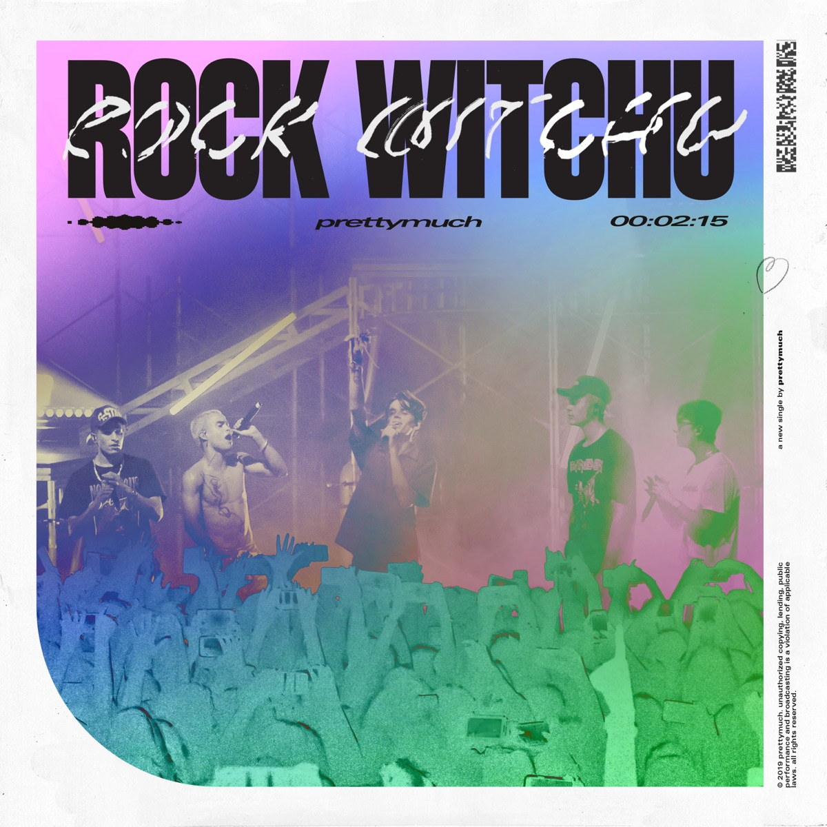 Rock Witchu - Single Album Cover by PRETTYMUCH