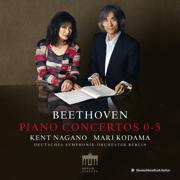 Beethoven: Piano Concertos 0-5 - Mari Kodama, Kent Nagano & Deutsches Symphonie-Orchester Berlin - Mari Kodama, Kent Nagano & Deutsches Symphonie-Orchester Berlin
