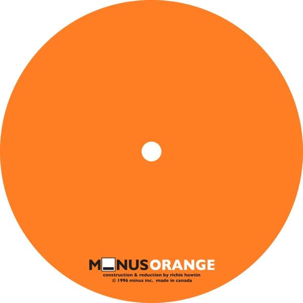 Richie Hawtin mit Minus/Orange 1